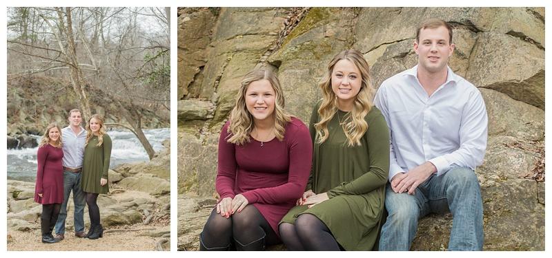 Lutz Family | Patapsco State Park | Mckeldin
