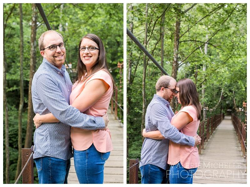 Natalie & Charlie | Patapsco State Park Engagement Session