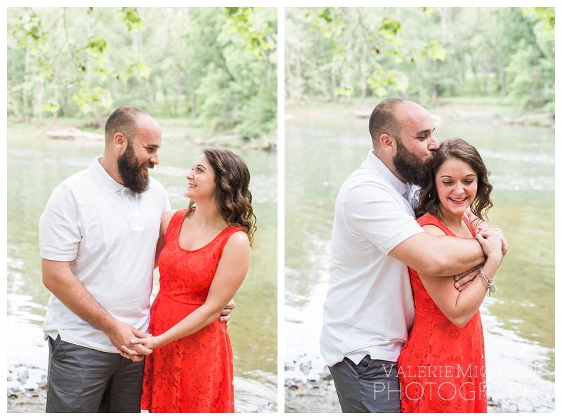 Ashley & Bryce | Mckeldin Patapsco Engagement Session