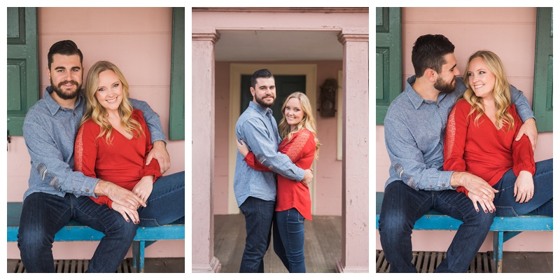 Jill & Zach | Union Mills Engagement