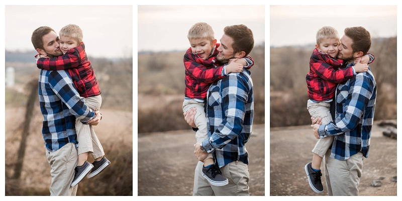 Chad & Tanner | Christmas Session