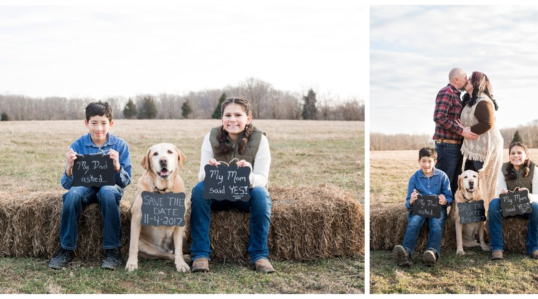 Julie & Richie | Farm Engagement Session