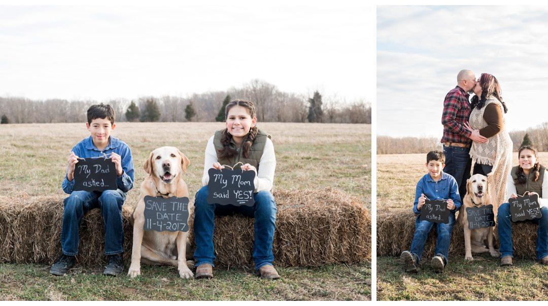 Julie & Richie | Farm Engagement Session