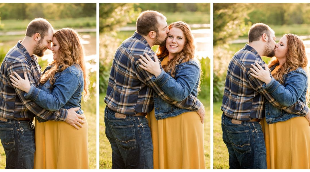 Brittany & George | Lake Engagement Session