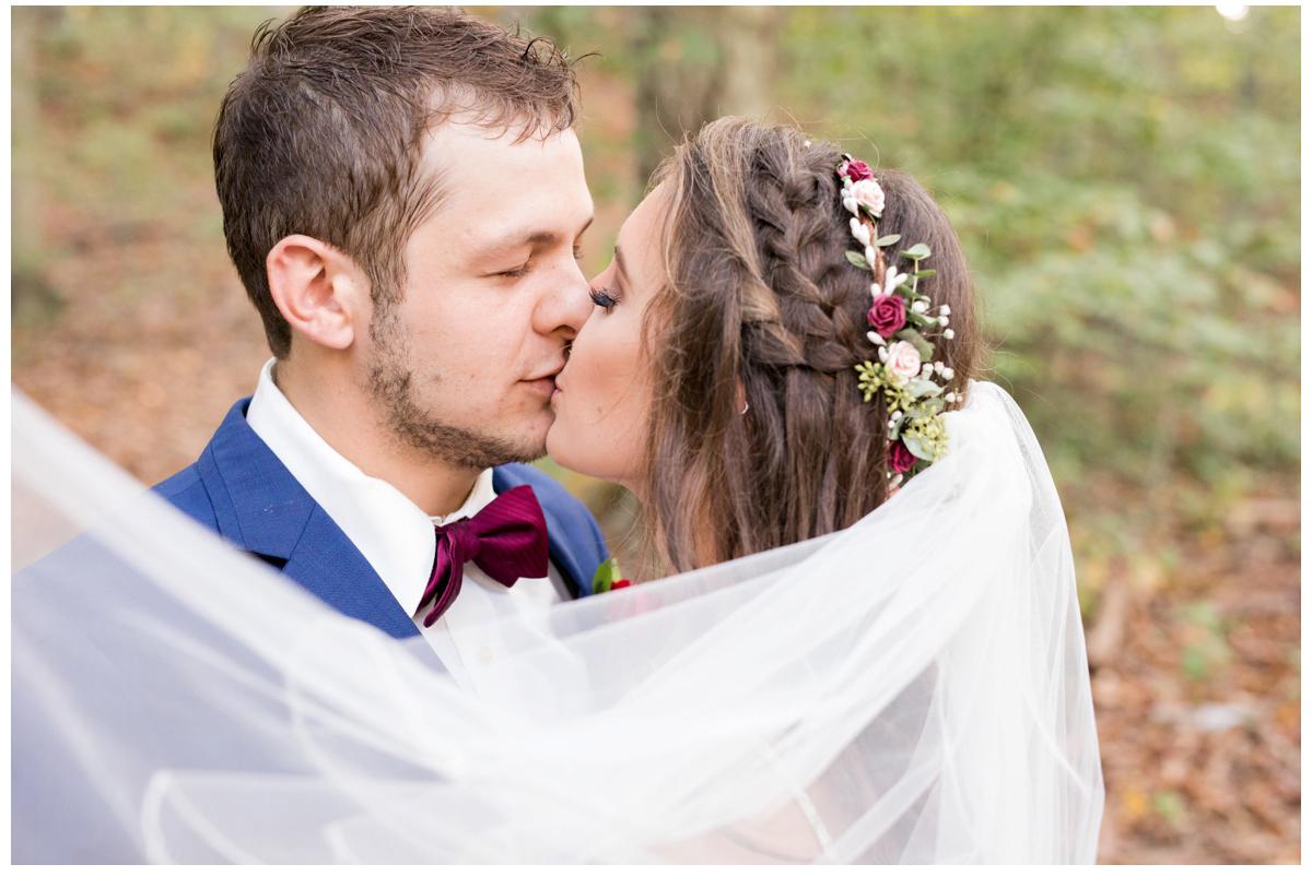 Cortney & Brandon | Elegant Wooded Wedding | Maryland Wedding Photographer