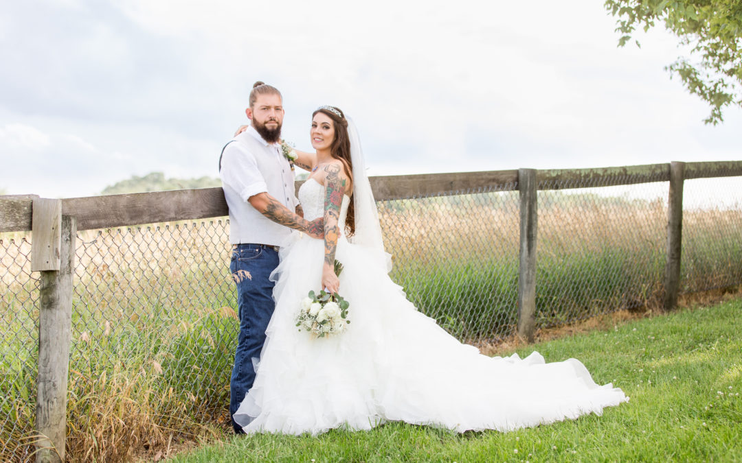 Ashley & Steve | Circle D Farm Wedding | Maryland Wedding Photographer