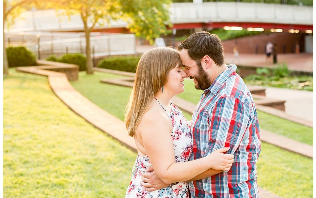 Jess & Cody | Carroll Creek Engagement Photos | Frederick, Maryland