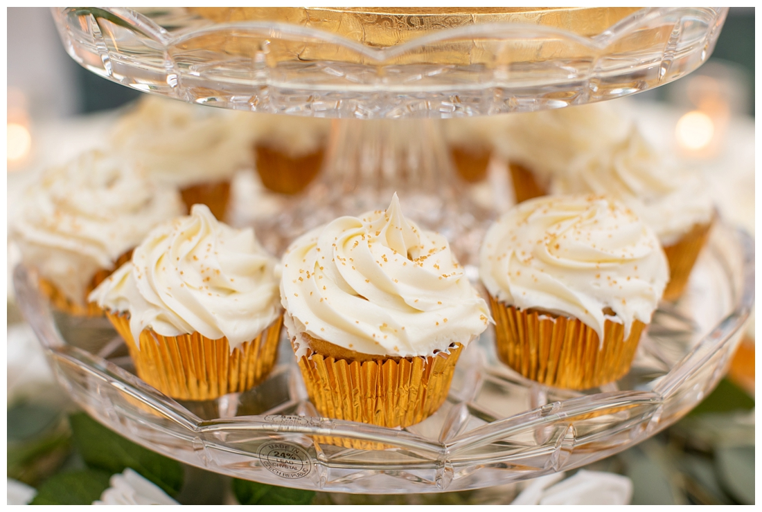 Towson Maryland Catholic Church Ceremony. Joppa Maryland Mountain Branch Golf Club Wedding. The Belvedere bridal wedding preparation. Wedding dessert cupcakes
