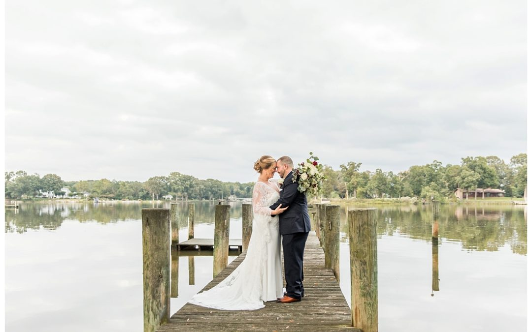 Eastern Shore Waterfront Wedding | Stephanie & Mike | Private Residence Wedding