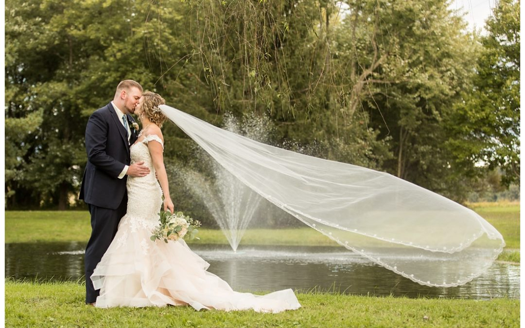 Fall Royer House Wedding | Westminster Maryland | Alicia & Michael