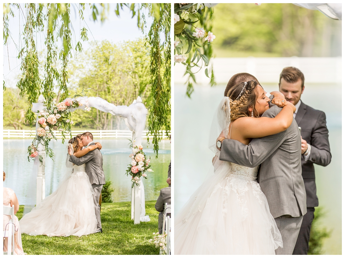Pond View Farm Wedding White Hall Maryland Wedding Spring Wedding May Wedding Maryland Barn Wedding Blush Wedding Pond Waterfront Farm 2019 wedding
