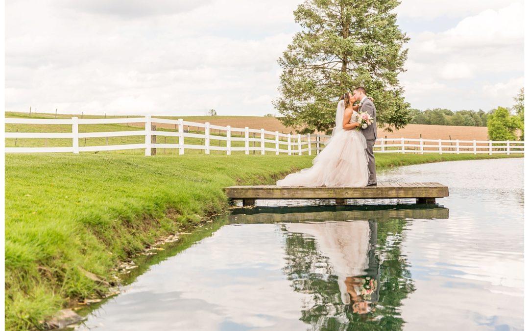 Pond View Farms Wedding | White Hall Maryland | Jill & George