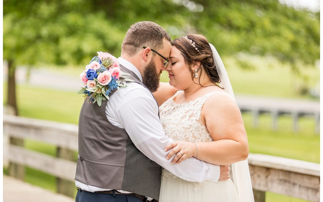 Links at Challedon Wedding |Spring Golf Course | Karli & Sean