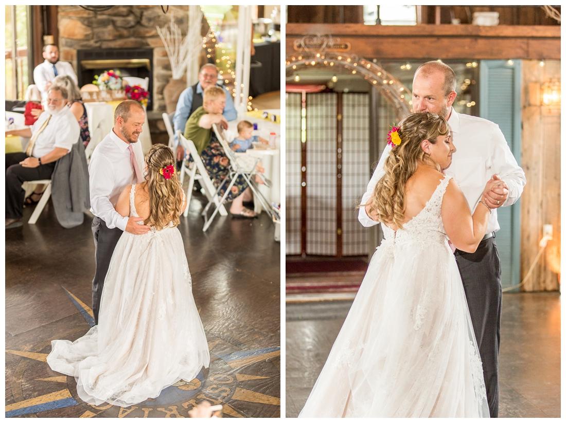 Ostertag Vista Spring Wedding. Frederick Maryland Wedding Photographer. Barn Wedding. Farm Wedding. Bright florals.