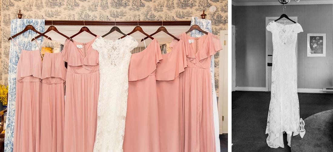 Antrim 1844 wedding. Summer wedding. 2019 couple. 2019 bride. Bridesmaid Dresses