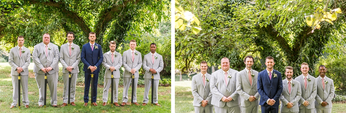 Antrim 1844 wedding. Summer wedding. 2019 couple. 2019 bride. groom and groomsmen