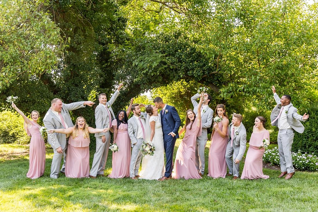 Antrim 1844 wedding. Summer wedding. 2019 couple. 2019 bride. bridal party