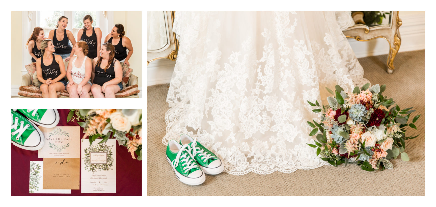Frederick Wedding Photographer, Frederick Wedding, Ceresville Mansion Wedding, Fall Wedding, Burgundy Wedding, Outdoor Wedding, Military Wedding, Marine Wedding, Emerald Ring, Emerald Engagement Ring, Emerald Wedding Ring Green Wedding Shoes, Green Converse