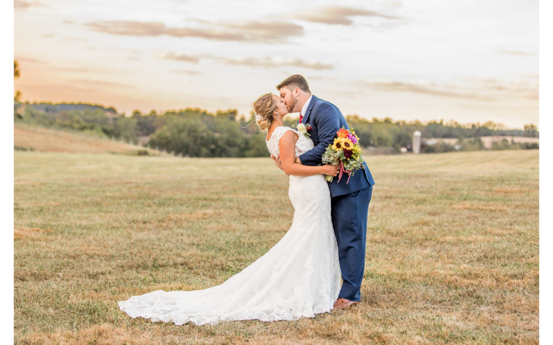 Linganore Winecellars | Fall Wedding | Danielle & Mike