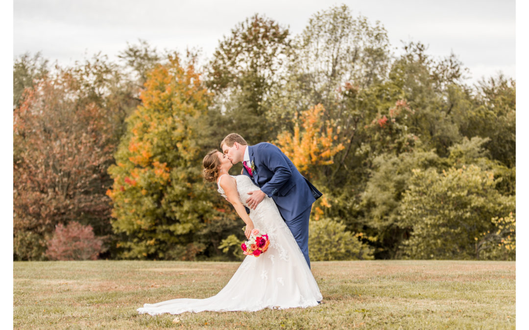 Fall St. John Church Wedding | Westminster, Maryland | Rachel & Steven