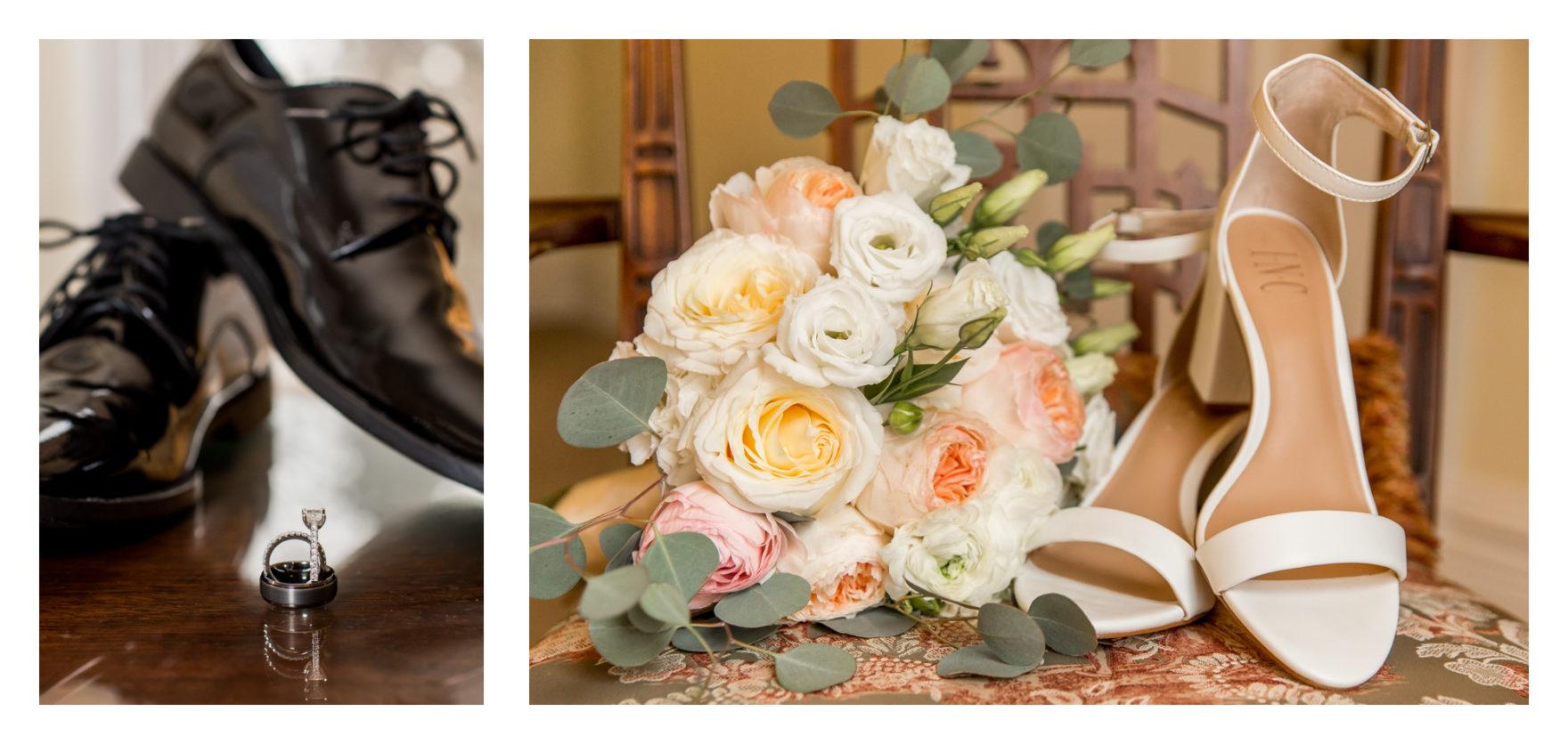 Cold Rainy Fall Wedding Day. Frederick Maryland Wedding Photographer. Frederick Weddings. Ceresville Mansion. Dreary Wedding Day