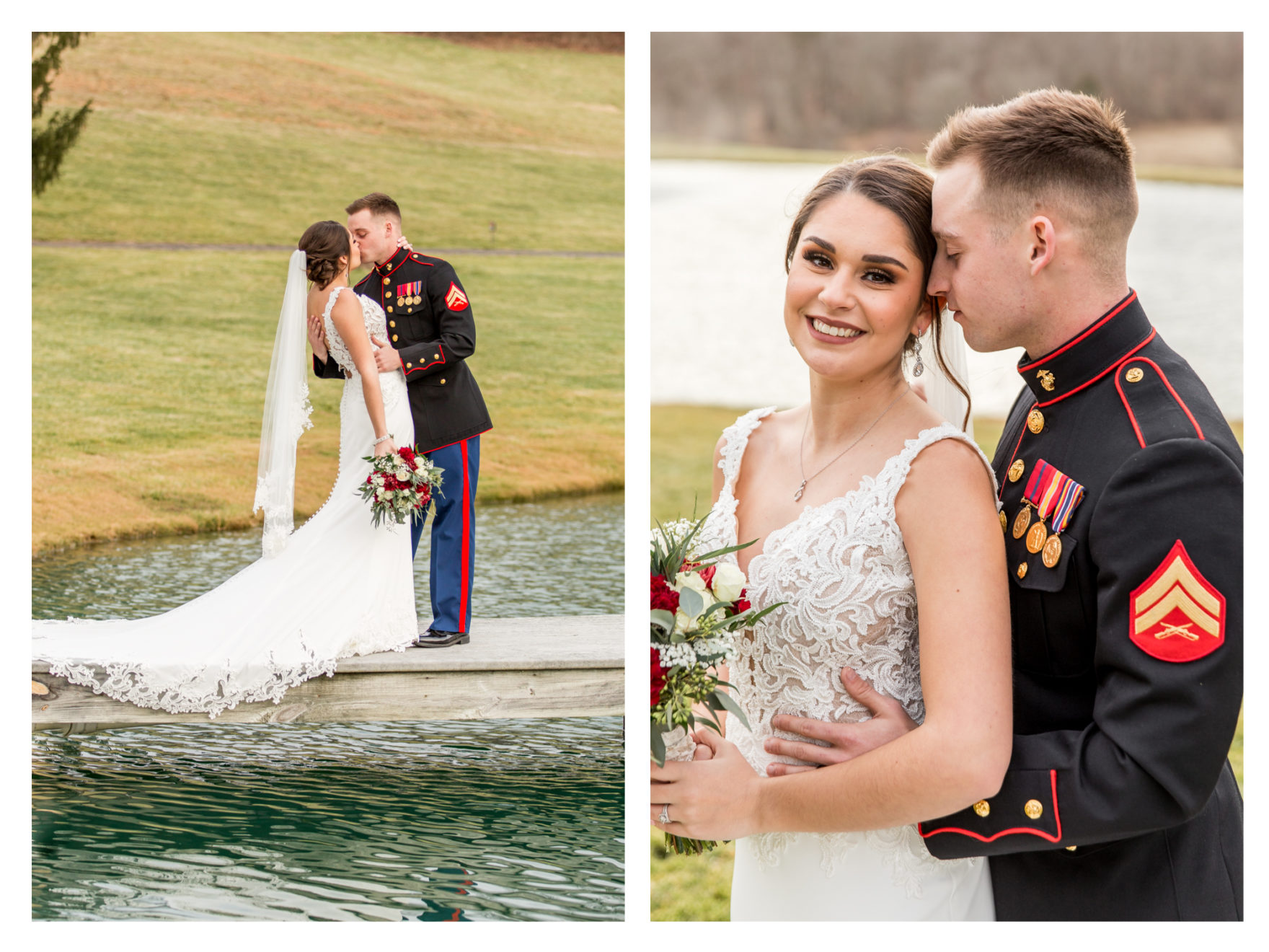 Winter Wedding. Warm winter wedding. Forest Hill Maryland. Fallston Maryland. Military Wedding. Marine Wedding. Stone Ridge Hollow. Barn Wedding. Farm Wedding.