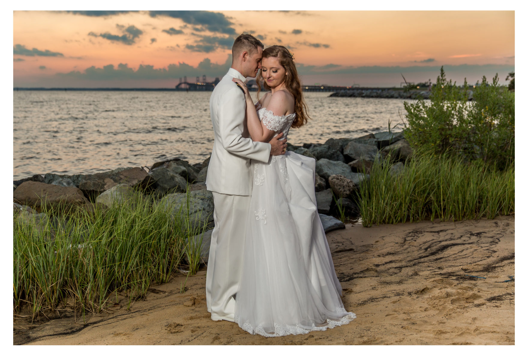 2020 Beach wedding, Waterfront wedding, Chesapeake Bay Wedding, Chesapeake Bay Beach Club, Covid Wedding, COVID-19, Postponed wedding, Summer Wedding, August Wedding