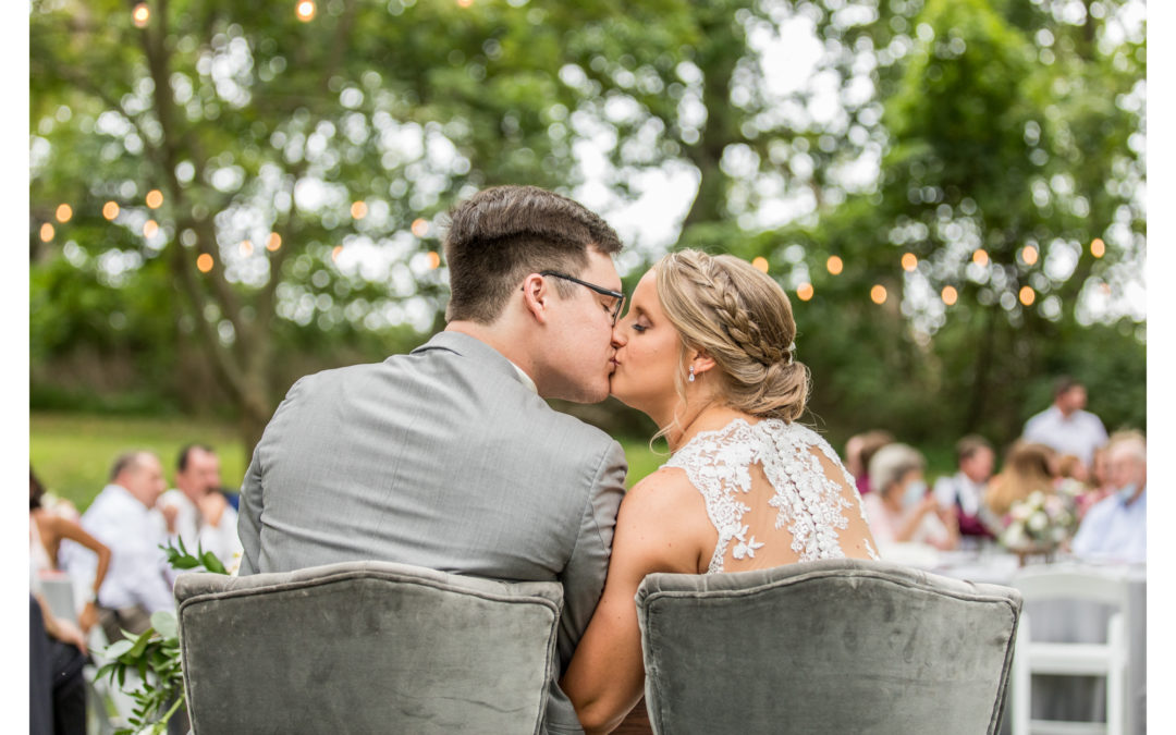 Seasons at Magnolia Manor | Summer Wedding | Jess & Logan