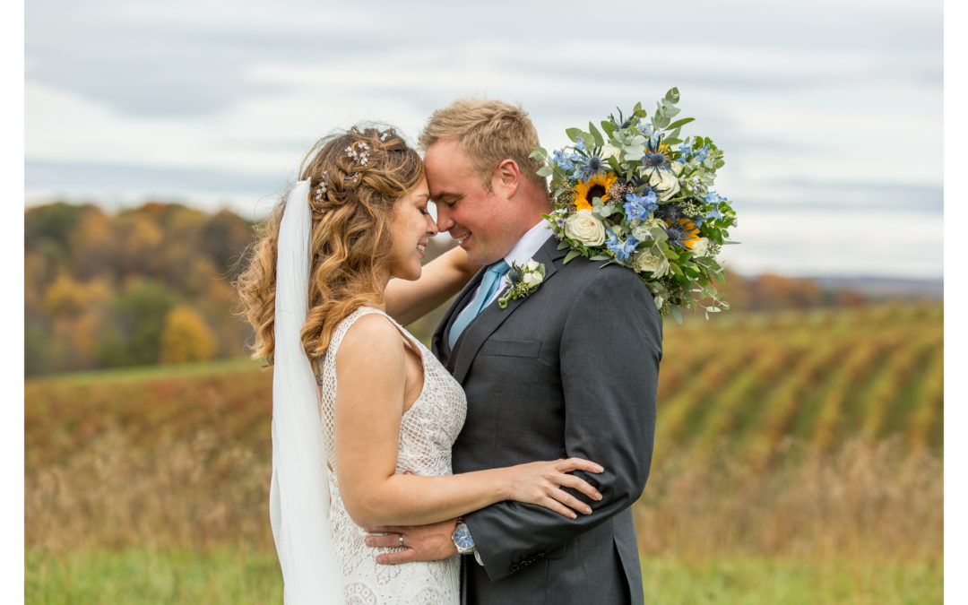 October Farm Wedding | Alexa & Matt