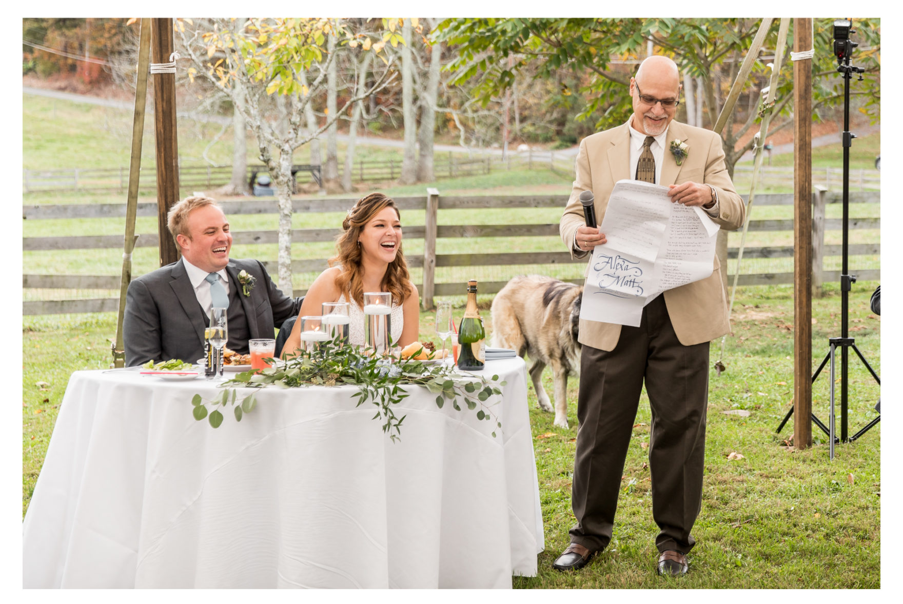 October Wedding. Farm Wedding. Fall Wedding. Frederick Wedding. Dog Wedding. Wedding Dogs. Goat Wedding. Goats. Pond. AirBnB.