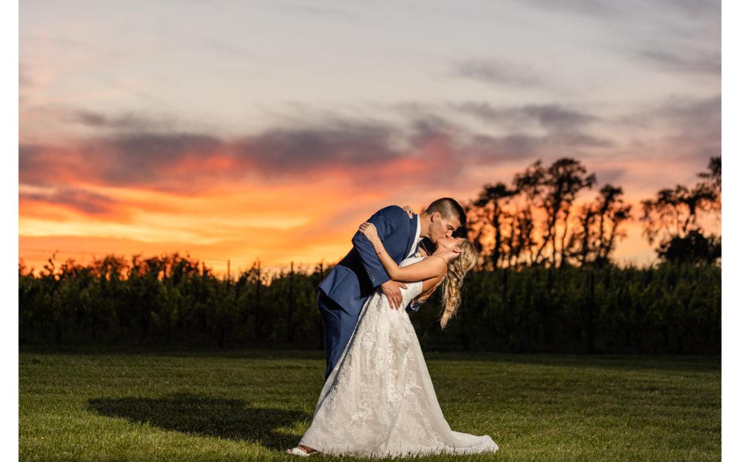 Black Ankle Vineyard | Winery Wedding | Morgan & Jason
