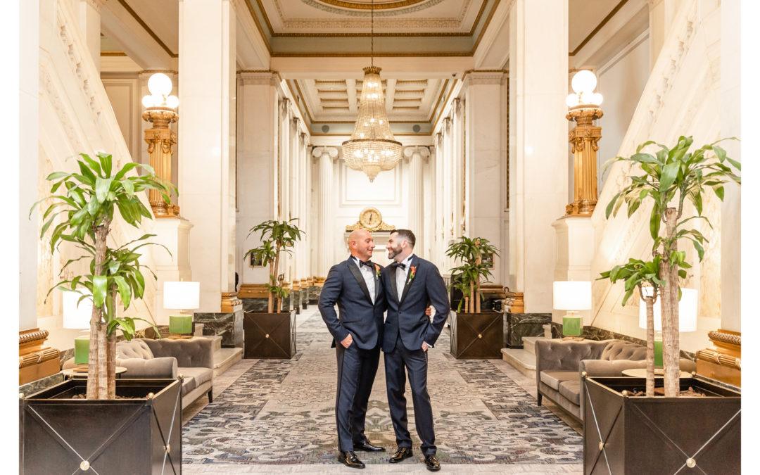 Hotel Monaco | Disco Wedding | Bryan & Sean
